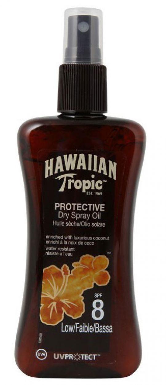 HAWAIIAN TROPIC BRONZING LOTION - Spray 200ml SPF 8